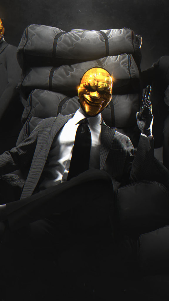 Payday 2 Golden Mask Wallpaper - Wallpapers For Tech