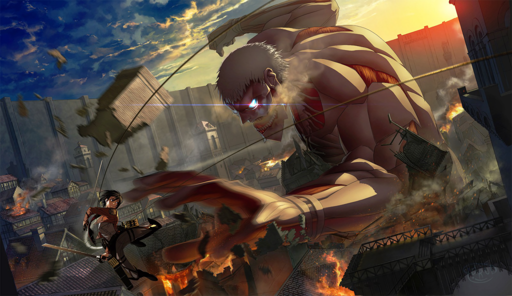 Attack On Titan Armored Titan Wallpaper Hd Wallpapers For Tech